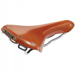 BROOKS B15 SWALLOW GENUINE LEATHER BICYCLE SADDLE IN HONEY BROWN