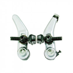 Cantilever Bicycles Brake Set in Silver Color