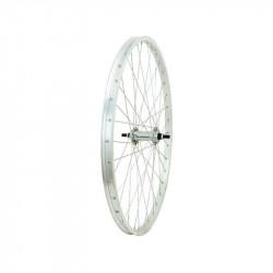 "Aluminium Rear Wheel 24"" steel hub 1 speed"