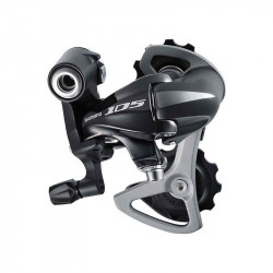 SHIMANO Road Race Rear Derailleur 105 - 10 S. 25/30RD 5701 SSShort Cage - 25/30 (Max. 30 T.)