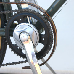 WOODEN BICYCLE CHAIN GUARD