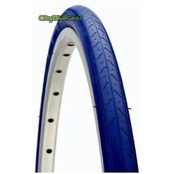 Fahrradreifen 28 Zoll 700x23C blau für Rennrad und Fixed Gear