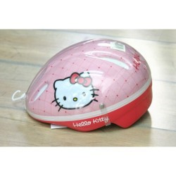 Hello Kitty Child Girl Bicycle Helmet Made in Japan by Yakari