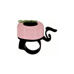 SMALL PINK MODERN BICYCLE BELL