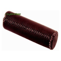 City Elegant Leather Grips Brown Color long size