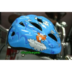 Children helmet blue - small size