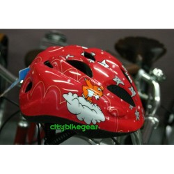 Bicycle Helmet for children size SMALL ( 50- 52cm) color red