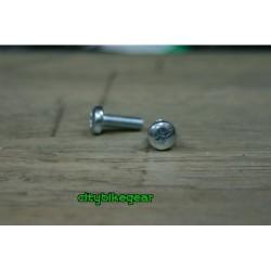 15mm round head bicycle screws