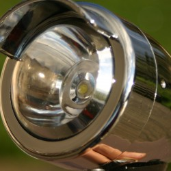 FAHRRAD FRONT BULLET LIGHT VISIER SCOOTER LED SUPER BRIGHT