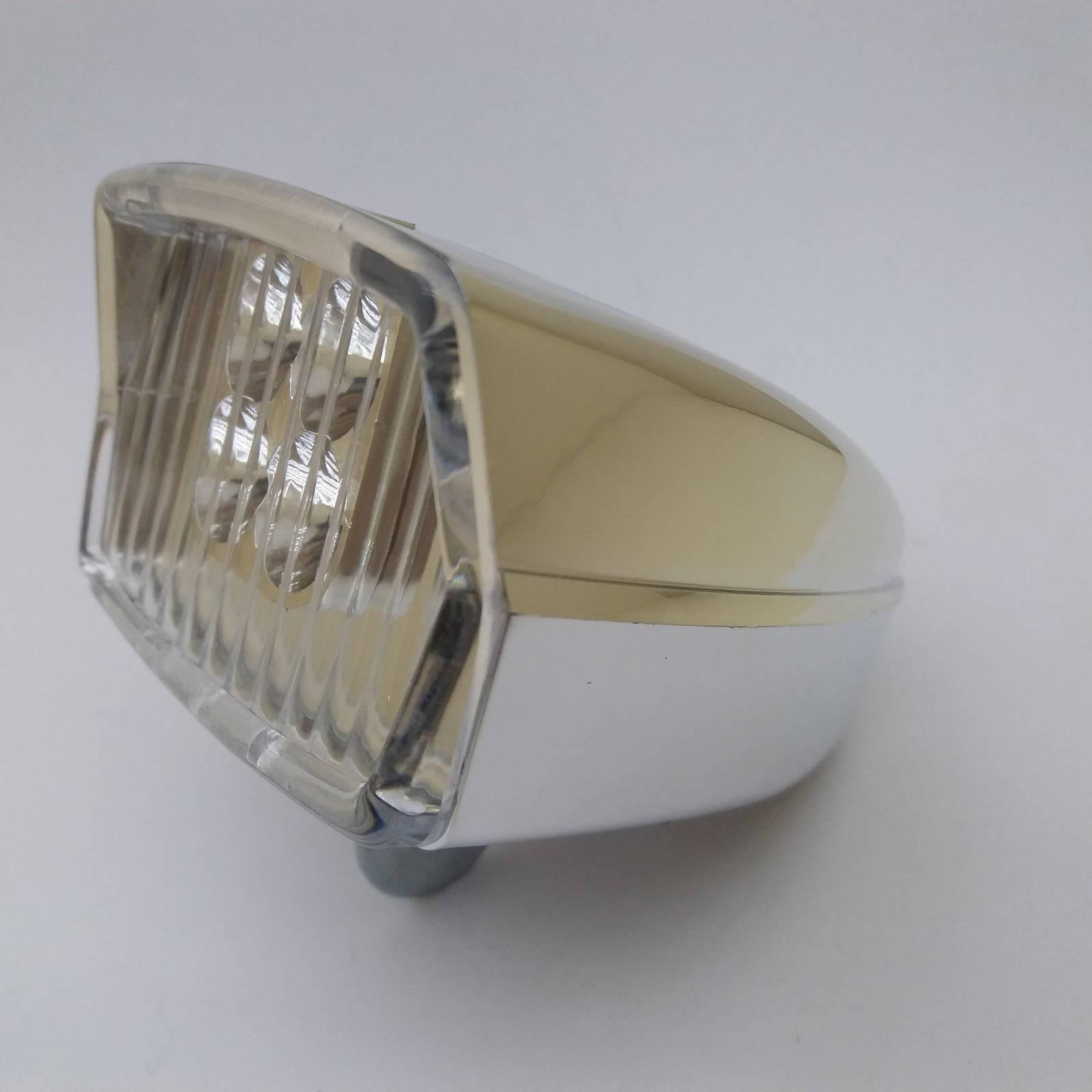 Vintage Square Bicycle Light dynamo