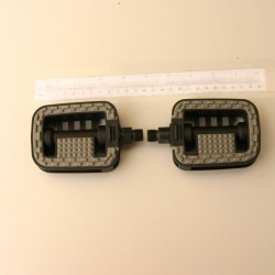 Classic Plastic Rubber Bicycle Pedals
