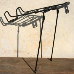 """Bicycle Rear Rack Pannier Steel Black Folding Rack 28"""" 26"""" 700C"""