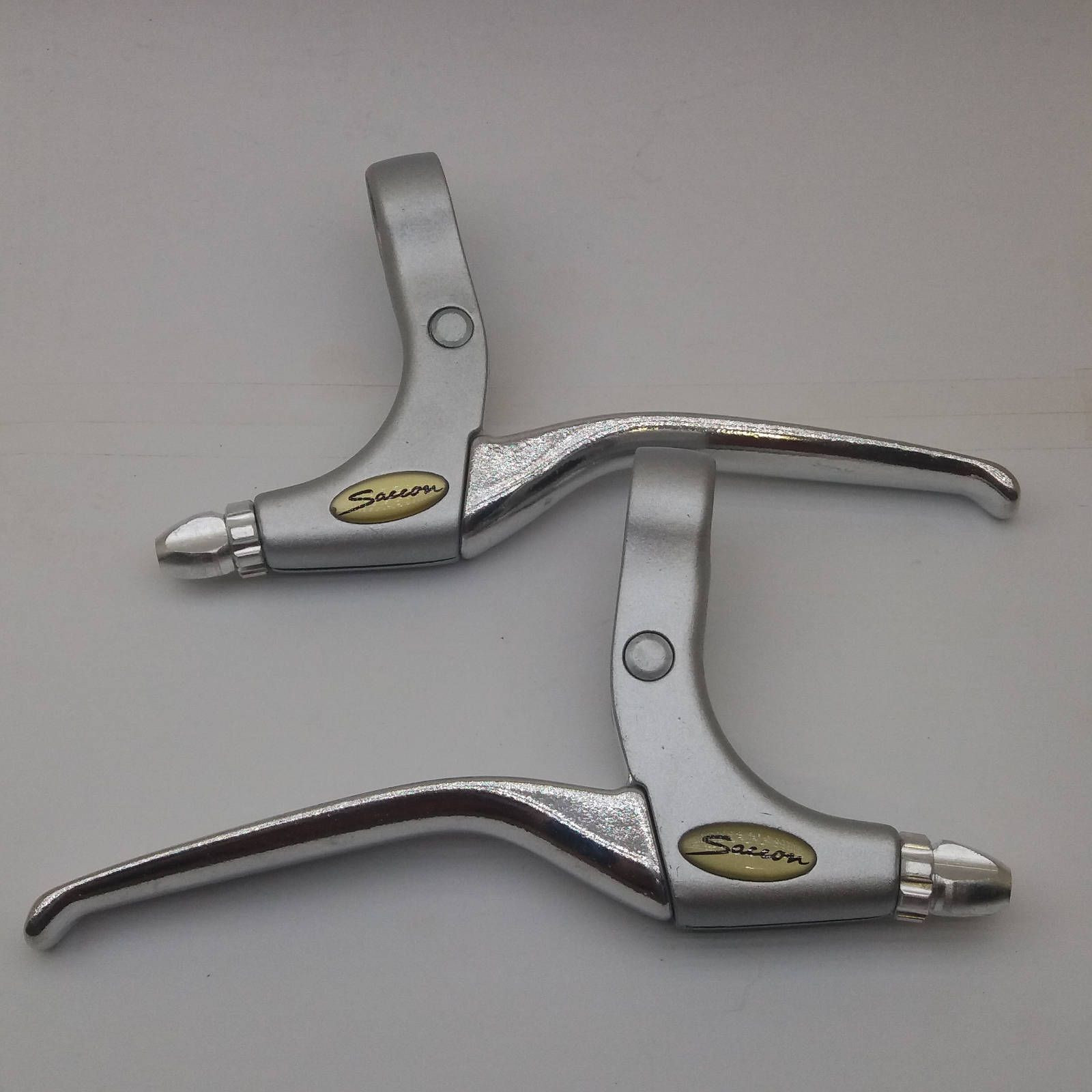SET SAFETY BRAKE LEVERS BICYCLE RACING BIKES FIXIES W/DROP HANDLEBARS NOS
