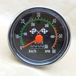 Classic Odometer Speedometer Bicycle Vintage Style Computer for Bike Bicycle