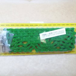 Colored Bicycle Chain Singlespeed Teflon Covered Easy Link Fixed Green
