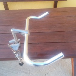 TURIN Τιμόνι ποδηλάτου Fixed Gear Πίστας Bullhorn