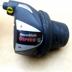 BICYCLE GEAR SHIFTER GRIP-SHIFT SHIMANO RS36-6 REVO RIGHT HAND