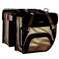 FAST RIDER - SHOPPER BICYCLE DOUBLE BAG PANIERS