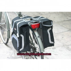 FASTRIDER SHOPPER DOUBLE BICYCLE BAGS - PANIERS