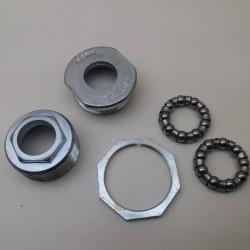 Bottom Bracket cups n lockring & bearings Italian bicycles thread 36mm