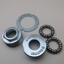 Bottom Bracket cups n lockring & bearings British bicycles thread 34mm