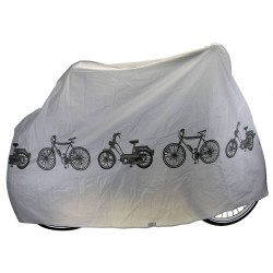 Κουκούλα ποδηλατου αδιάβροχη από PEVA