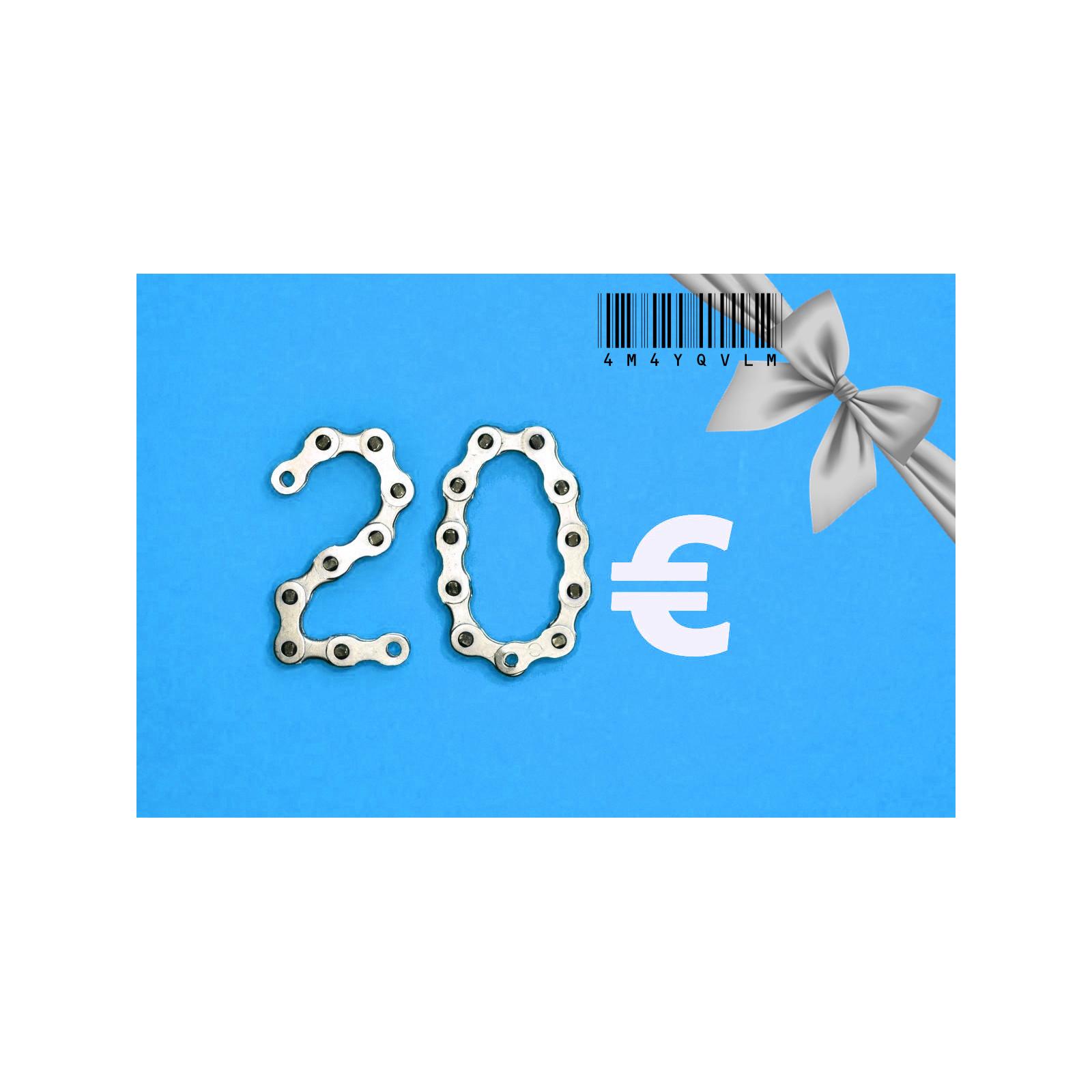 20 euro Gift Card-20