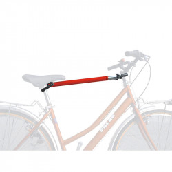 BIKE FRAME MAN/WOMAN ADAPTER RED