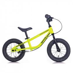 SPEED RACER CHILDREN STEEL BALANCE BICYCLE YELLOW