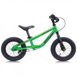 SPEED RACER CHILDREN STEEL BALANCE BICYCLE GREEN