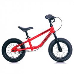 SPEED RACER CHILDREN STEEL BALANCE BICYCLE RED