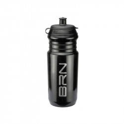 BRN 750ml. BICYCLE WATER BOTTLE BLACK