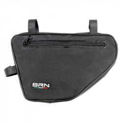 BRN BICYCLE FRAME PENTAGONAL BAG BLACK
