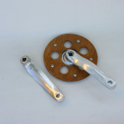 Alloy Crank Arms 44T with wooden protector