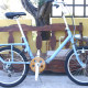 Wood Chain Guard with Alloy Crank Arms 44T with Wooden Protector