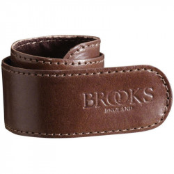 BROOKS STRAP BICYCLE TROUSERS CLIPS BROWN