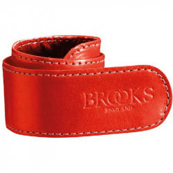 BROOKS STRAP BICYCLE TROUSERS CLIPS RED