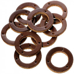 BROOKS BROWN RINGS FOR GRIPS (10 PCS.)