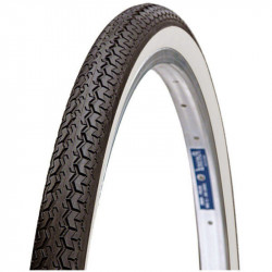 BRN 26x1.1/2 TIRE BLACK/WHITE