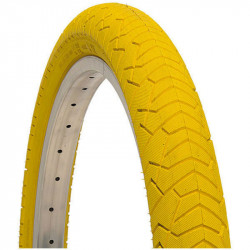 BRN 20x1.95 TIRE YELLOW