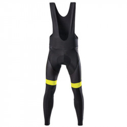 BRN WINTER CYCLING MAN TIGHT FLUO YELLOW SIZE M