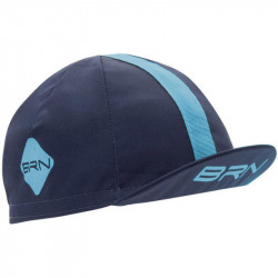 BRN VINTAGE CYCLING CAP BLUE/LIGHT BLUE
