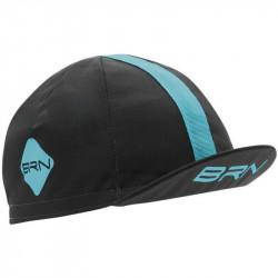 BRN VINTAGE CYCLING CAP GREY/LIGHT BLUE