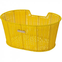 LIBERTY FRONT BICYCLE BASKET YELLOW