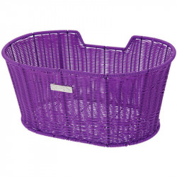 LIBERTY FRONT BICYCLE BASKET VIOLET