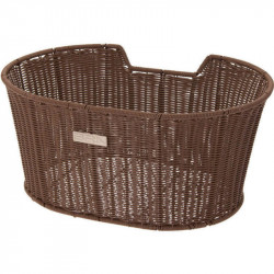 LIBERTY FRONT BICYCLE BASKET BROWN