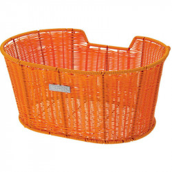 LIBERTY FRONT BICYCLE BASKET ORANGE