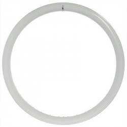 FIXED GEAR, ALUMINIUM BICYCLE RIM, 43mm HEIGHT, IN COLOR WHITE