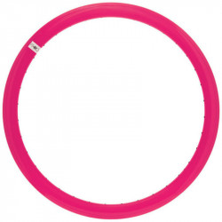 FIXED GEAR, ALUMINIUM BICYCLE RIM, 43mm HEIGHT, IN COLOR FLUO FUCHSIA