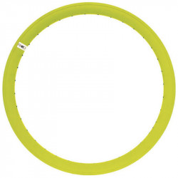 FIXED GEAR, ALUMINIUM BICYCLE RIM, 43mm HEIGHT, IN COLOR FLUO YELLOW